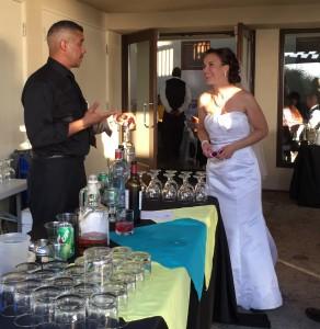Catering Weddings Happy Bride